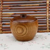 Wooden Spice Seasoning Bottles Kitchen Sets Of 2