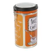 Faveco 509246 - Management Container Round, Metal, Reason Coffee Colour, 13.5 x 19.2 x 11.5 cm, Multi-Coloured
