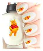 Easy to use, High Quality Nail Art Decal Stickers For Every Occasion! Ideal Christmas present, stocking filler Winnie the Pooh