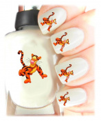 Easy to use, High Quality Nail Art Decal Stickers For Every Occasion! Ideal Christmas present, stocking filler Winnie the Pooh - Tigger