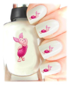 Easy to use, High Quality Nail Art Decal Stickers For Every Occasion! Ideal Christmas present, stocking filler Winnie the Pooh - Piglet