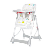 Chipolino Highchair Can Can, Grey
