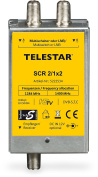 Telestar 5222534 SCR 2/1x2 UniCable Solution (Twin/2 Single Receiver To 1 Pipe - Silver