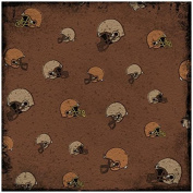 Karen Foster Design Scrapbooking Paper, 25 Sheets, Helmets, 30cm x 30cm