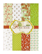 FaCraft Wrapping Paper Book 23cm x 30cm ,16 Sheets Different Designs Wrap Papers