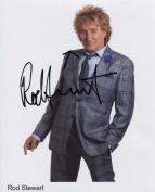 Rod Stewart SIGNED Photo 1st Generation PRINT Ltd 150 + Certificate
