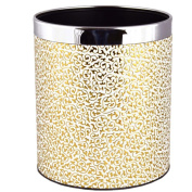Household trash creative fashion trash cans material leather specifications 22 * 25cm office supplies trash cans