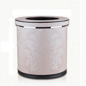 Household trash can Double layer trash can materials leather specifications 245 * 283mm hotel trash can