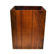 trash cans Household trash cans Office supplies trash material wood specifications 210 * 168 * 260mm Garbage collection box