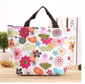 EOYHDSIA Lovely Picnic Lunch Canvas Food Bag