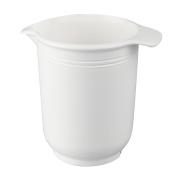Dr. Oetker 1704 Mixing Bowl, Plastic, white, 11 x 11 x 16 cm
