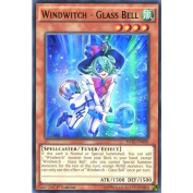 YuGiOh : RATE-EN098 1st Ed Windwitch - Glass Bell Ultra Rare Card -
