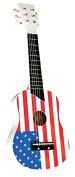 Luxury children's guitar for usa flag