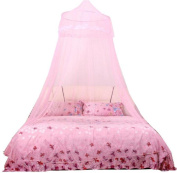 Singleluci Dome Lace Mosquito Nets Indoor Outdoor Play Tent Bed Canopy