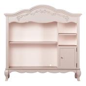 Evolur Aurora Hutch/ Bookcase, Blush Pink