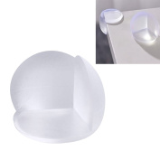 10 Pcs Furniture Corner Safety Bumper Corner Protector Guard Cushion Table Desk Edge Corner Protector With Double-sided Adhesive