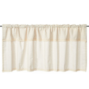 Fashion Cotton Linen Lace Curtain Valances for Kitchen Bath Laundry Bedroom Living Room 140cm x 60cm