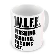 W.I.F.E. Funny Novelty Gift Mug