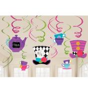 Alice In Wonderland Mad Hatter Tea Party Swirls