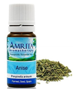 Farmed - Anise (Pimpinella anisum) Therapuetic Essential Oil By Amrita Aromatherapy - SIZE