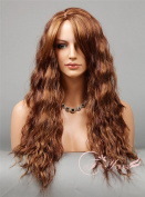 Soogo Fityous Long Spiral Loose Curls Curly Wig Auburn Blonde Mix 3 Tone Fashion Women Wig Lace Front wig Blonde Mix full lace Wigs for women Curly Wavy wig for sale