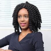 Wigs, Hatop African Style Weave Dreadlocks Wig Long Curly Rolls Hair Wig for Black Women