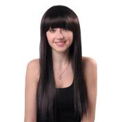 Wigs, Hatop New Fashion Women Human Hair Wig Full Hair Wig Straight Long Hair Wig