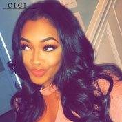 Cici Collection 360 Lace Frontal Wig Pre Plucked 180% Silk Straight Full Lace Human Hair Wigs Malaysian Virgin Hair 360 Lace Front Human Hair Wigs For Black Women