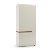 Furniture To Go Chelsea 2-Door Robe, 85 x 195 x 59 cm, White Gloss