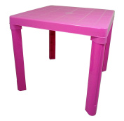 High Quality Pink Kids Children Plastic Table Home Garden Picnic by Plastic