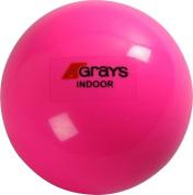 Greys Hockey Sport Match Play Training & Practise Indoor Ball Fluoro Pink 160ml