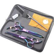 Professional 15cm Family DIY Hair Cutting & Thinning Scissors Salon Hairdressing Shears Set