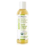 Alteya USDA Organic Facial Cleanser & Wash 150ml - Pure Jasmine - Moisturising and Calming for Dry Sensitive Skin