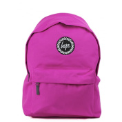 HYPE Backpack Plain Fuchsia Pink School Bag - HYPE Bags