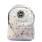 HYPE Backpack Primary Speckle White School Bag - HYPE Bags