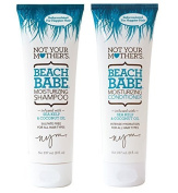 Not Your Mother's Beach Babe Texturizing Shampoo 240ml + 240ml Conditioner (Combo Deal) by Not Your Mother's