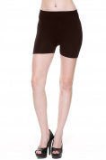 TheLovely Women's 28cm Seamless Spandex Base Layer Leggings Athletic Workout Shorts