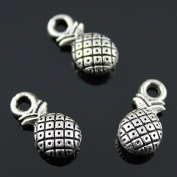 NEWME 60pcs pineapple Charms Pendant For DIY Jewellery Wholesale Crafting Bracelet and Necklace Making