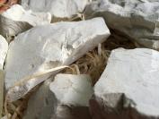 GREEN edible Clay chunks (lump) natural for eating (food), 1 lb