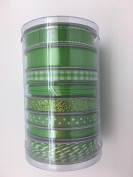 Celebrate IT- Ribbon - Value Pack (set of 8) (green) 32yd