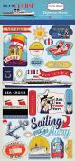 Carta Bella Paper Company CBLC65022 Let's Cruise 6x13 Chipboard