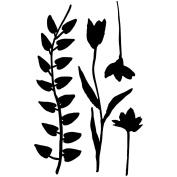 Joggles Stencil & Mask Combo 15cm x 23cm -Flora & Fronds #7