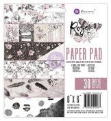 Prima Marketing 6X6 Paper Pad - Rose Quartz