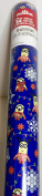Minions Gift Wrap Wrapping Paper 4.2sqm Blue