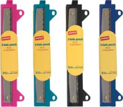 Staples Binder 20545 3-Hole Punch, Assorted Colours
