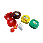 [Set of 2] Special Cute Contact Lenses Box Case/Holders Container£¬Random Colour