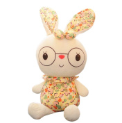 SUNONE11 50cm Multi Hearts Bunny Ears Rabbits Stuffed Animal Plush Pillow Soft Doll Easter Day Toys for Baby Girls Birthday Gift