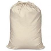 White Cotton Drawstring Laundry/Storage Bag  .   UK Only