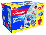 Vileda SuperMocio XL 3 Action Mop and Bucket Set
