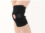 Sweetauk Knee Support Brace with Open Patella Helps Stabilising and Recovery High Quality Maximum Comfort Fully Adjustable - Perfect for Training, Running,Basketball,Joint pain,Arthritis, Strains, Knee Injuries and Meniscal Tears